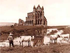 'Whitby Abbey' by Frank Meadow Sutcliffe