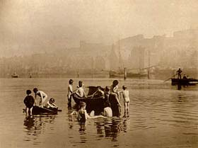 'Water Rats' by Frank Meadow Sutcliffe